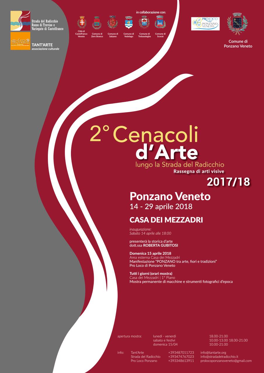 Comune Di Ponzano Veneto 2° cenacoli d'arte lungo la strada del radicchio | casa dei